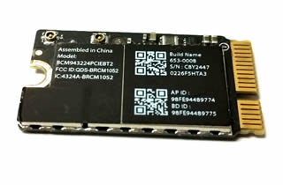 AirPort/Bluetooth card, MacBook Air 11/13 2010-2012 中古品