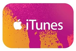 iTunes Gift Card US版 $100 カード発送