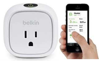 Belkin WeMo Insight スイッチ for iPhone, iPod touch, iPad
