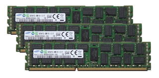 48GBキット 16GBx3 DDR3 PC3-14900 1866MHz ECC Registered Samsung純正