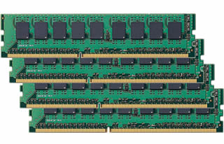 シングル CPU最大 56GBキット 16GBx3+8GB DDR3  ECC Registered
