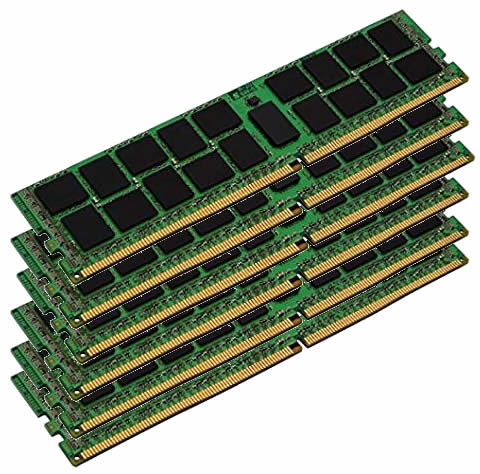 96GBキット 16GBx6 PC23400 DDR4 ECC 2933MHz 288-pin LRDIMM Registered