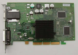 nVIDIA GeForce4 MX 64MB AGP, ADC & VGA TwinView対応